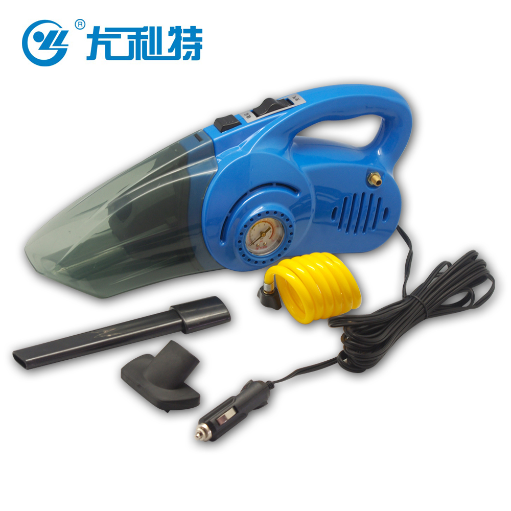 You lite car vacuum cleaner car playing pump air pump dual v power multifunction measuring tire pressure