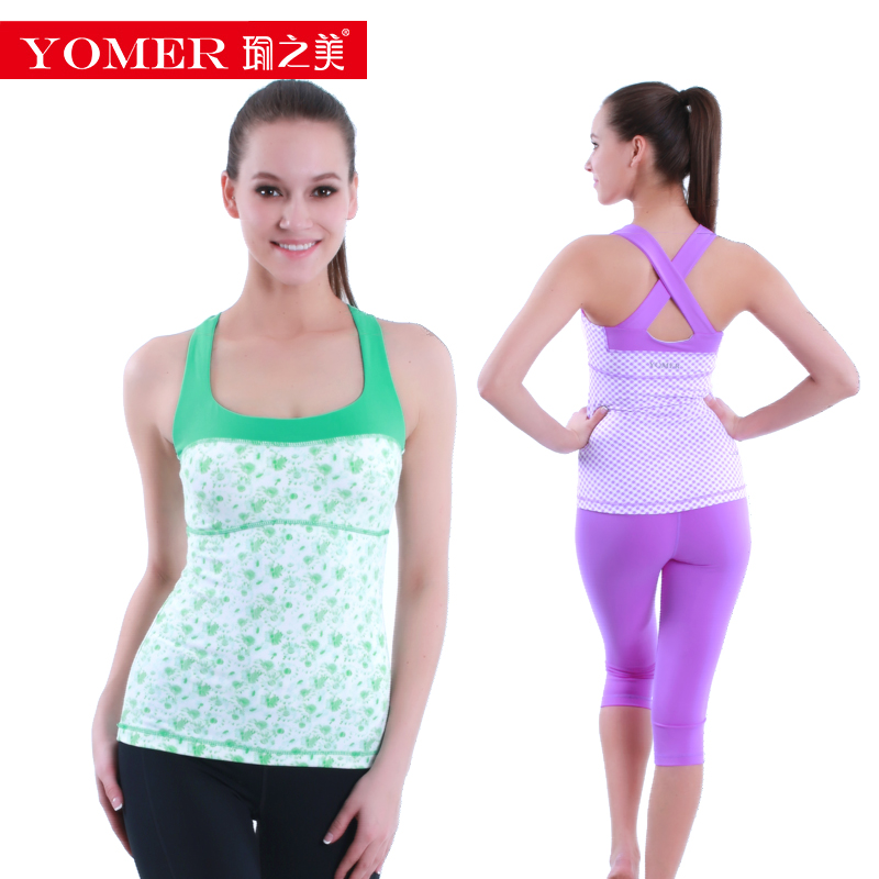 c60a825b4b6c0 Get Quotations · Yu beauty of spring and summer new vest yoga clothes yoga  clothes workout clothes dance sport
