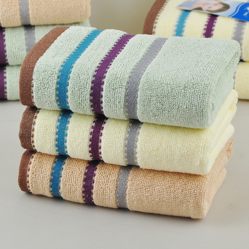 Yu jie vosges absorbent cotton towel bath towel 1 + 1 combination package of adult