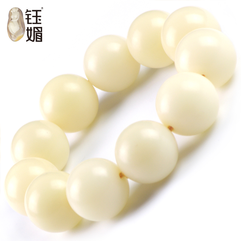 Yu mei white bodhi root natural bodhi root bracelets man playing bracelets men paragraph 21mm month high density dry grinding along il