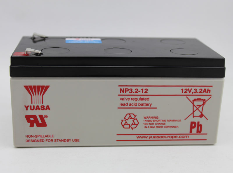 Yuasa battery np3.2-12 12v3. 2ah battery yuasa battery battery battery of medical equipment
