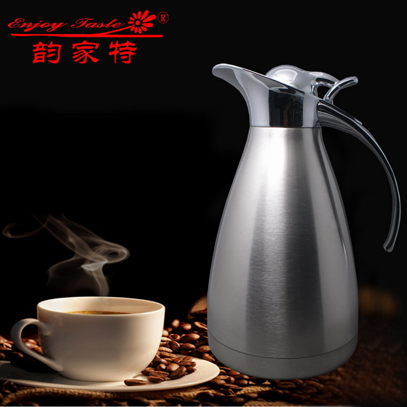 Yun home special 304 stainless steel thermos thermos insulation pot kettle pot duckbill double 2l home special offer free shipping