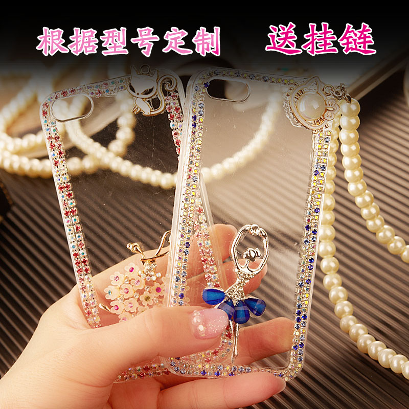 Zte blade q lovebirds lux halter cartoon mobile phone shell mobile phone sets diamond protective shell influx of women