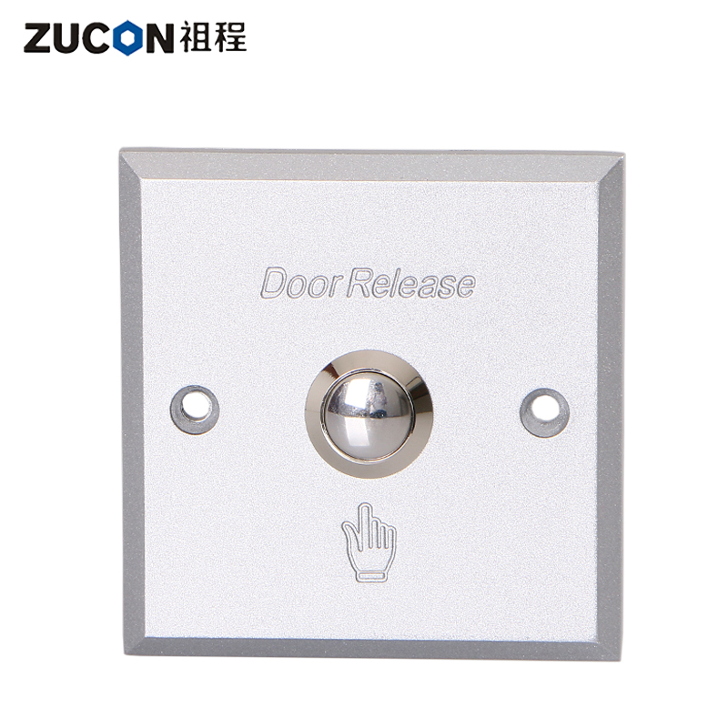 Zucon ancestral process electronic access control door lock switch out switch button concealed surface mounted aluminum alloy