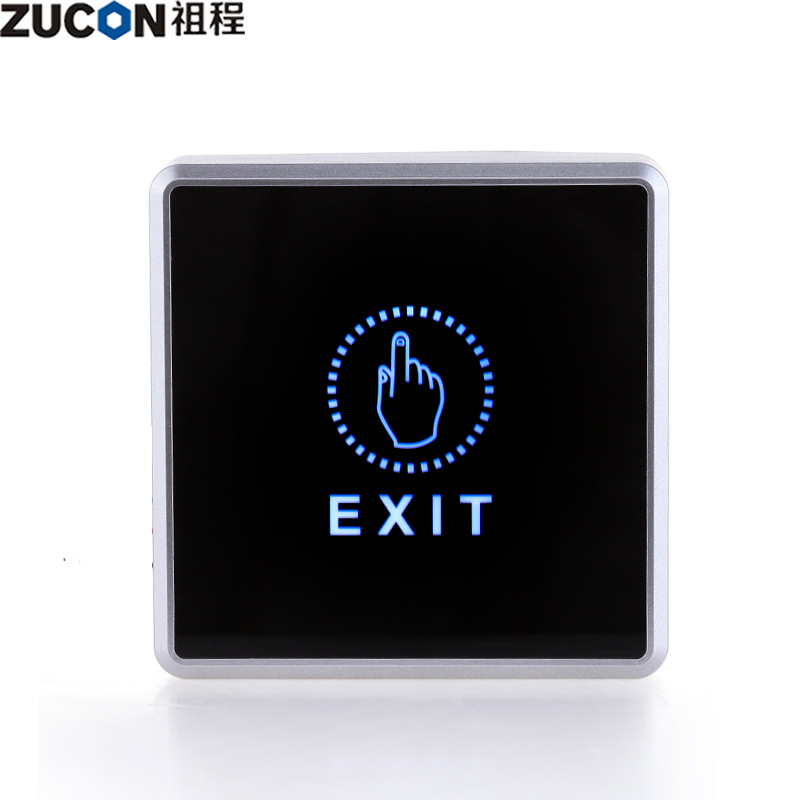 Zucon ancestral process electronic access control door lock switch out switch button surface mounted infrared touch switch