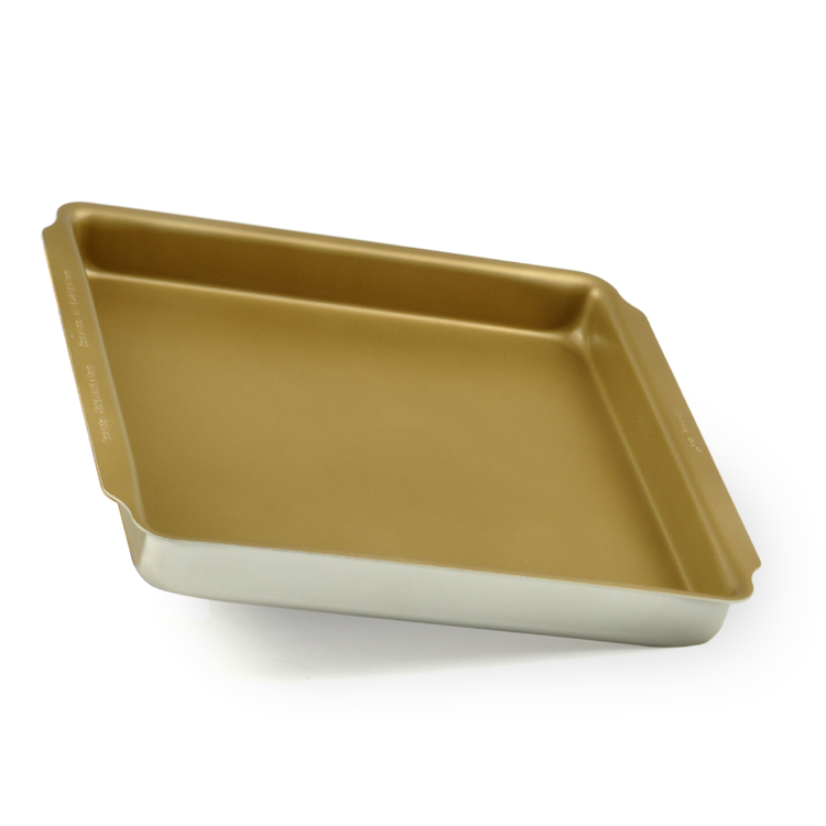 get quotations 10 groups seiko gold integrally molded square baking pan nonstick cake pan baking oven