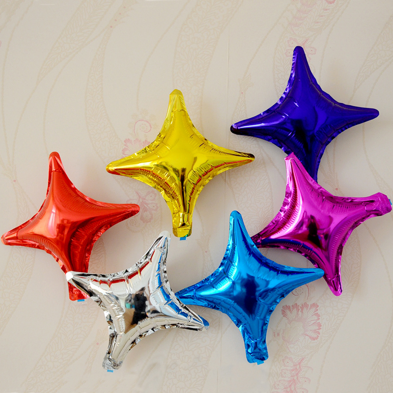 10 inch 18 inch pentagram star shaped type aluminum foil balloon wedding decoration wedding birthday party