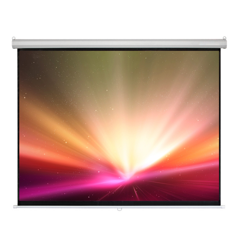 100-inch projection screen 84 electric screen white plastic electric screen projector screen electric screen white fiberglass