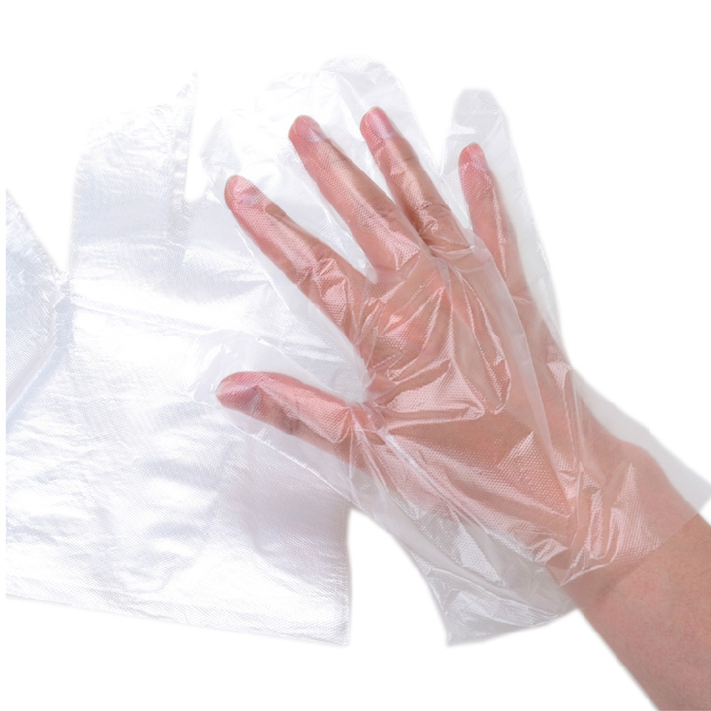 100 loaded disposable gloves pe film gloves health gloves gloves household decoration dedicated diy