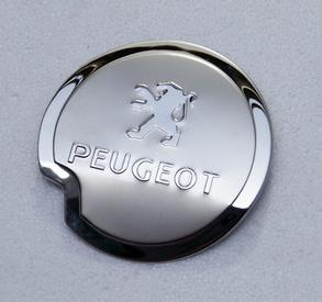 Dongfeng peugeot car people 206 207 3073008 408 508 hatchback sedan stainless steel tank cover fuel tank cap stickers