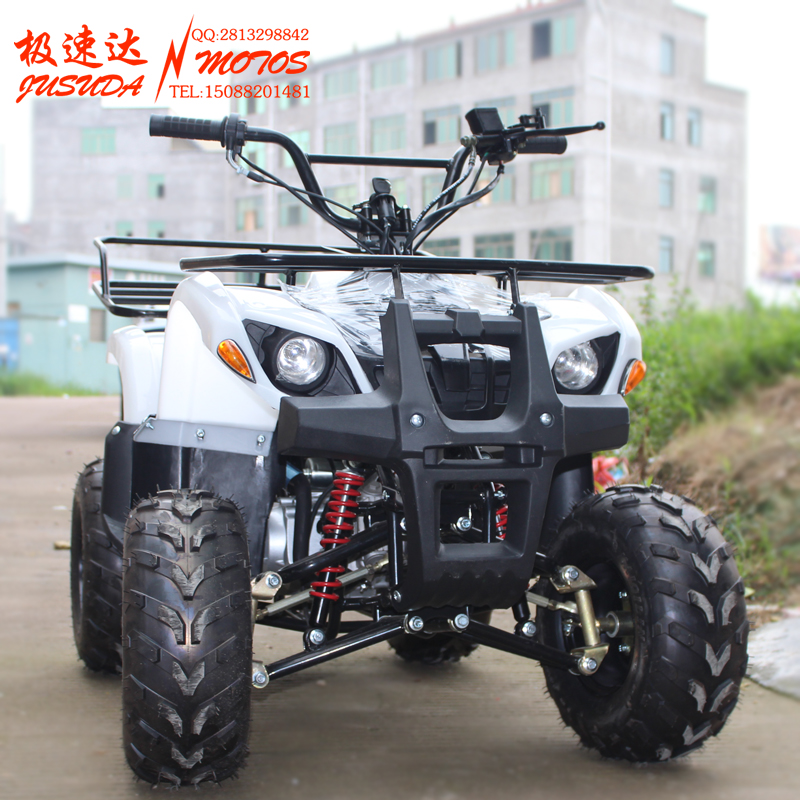 To increase small bull atv sport utility vehicle four double aluminum exhaust motorcycle atv send turn lights turn lights