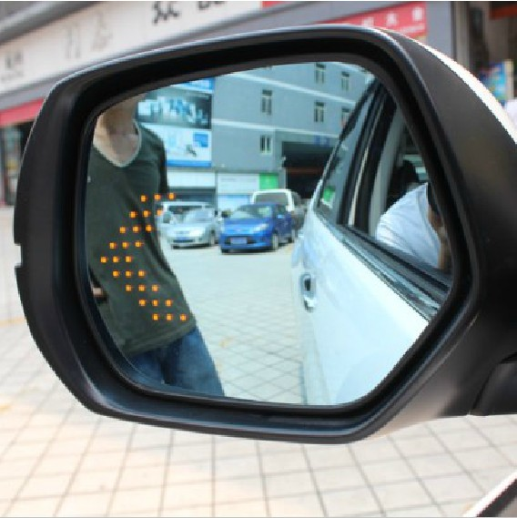 Honda xrv chi bin accord crv fit front fan si domain led blue mirror side mirror piece rearview mirror turn signals
