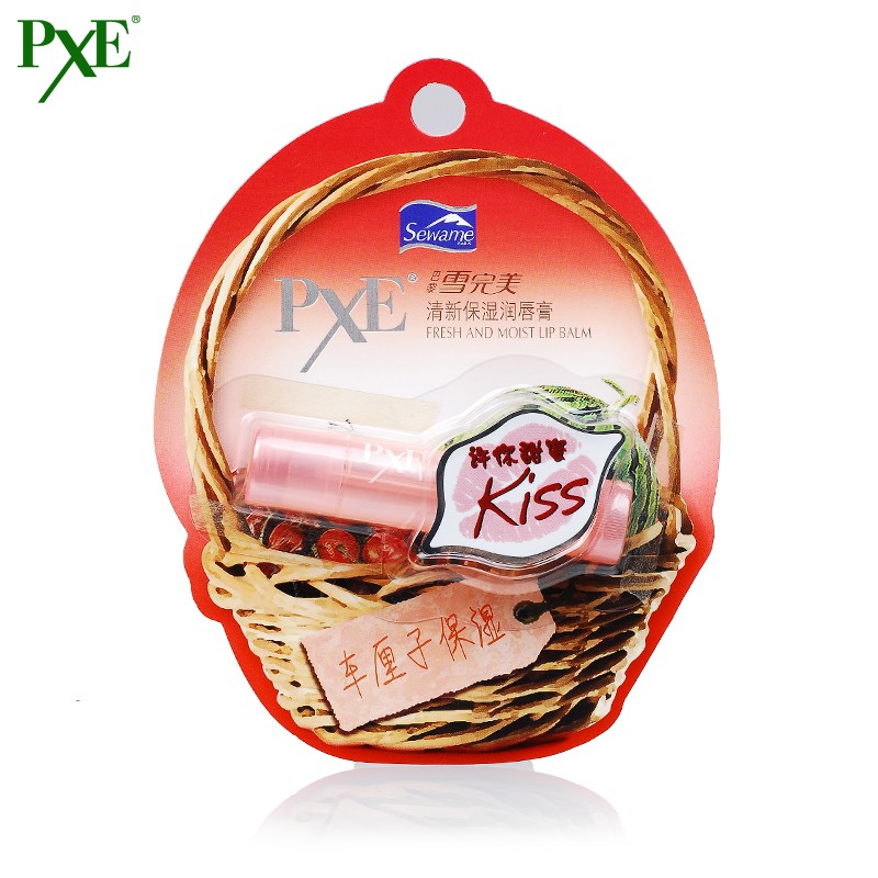 Sewame pxe fresh moisturizing lip balm 3.5g refreshing moisturizing lip balm colorless lasting moisturizing lip balm