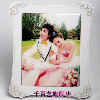 Korea crystal diy creative custom photo personalized birthday gift crystal photo frame shadow according to the production of a new house wedding