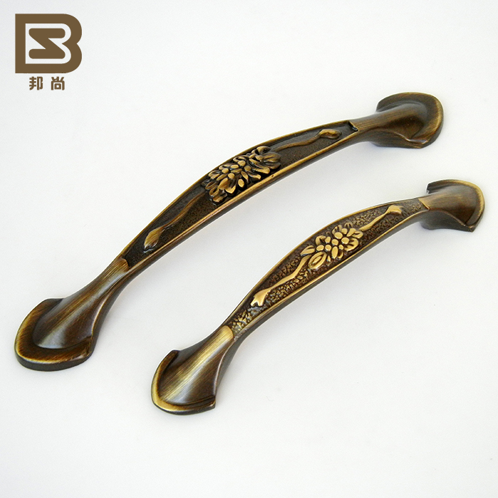 [Italian] state still full copper handle solid copper cabinet drawer handle handle handle european retro 9436