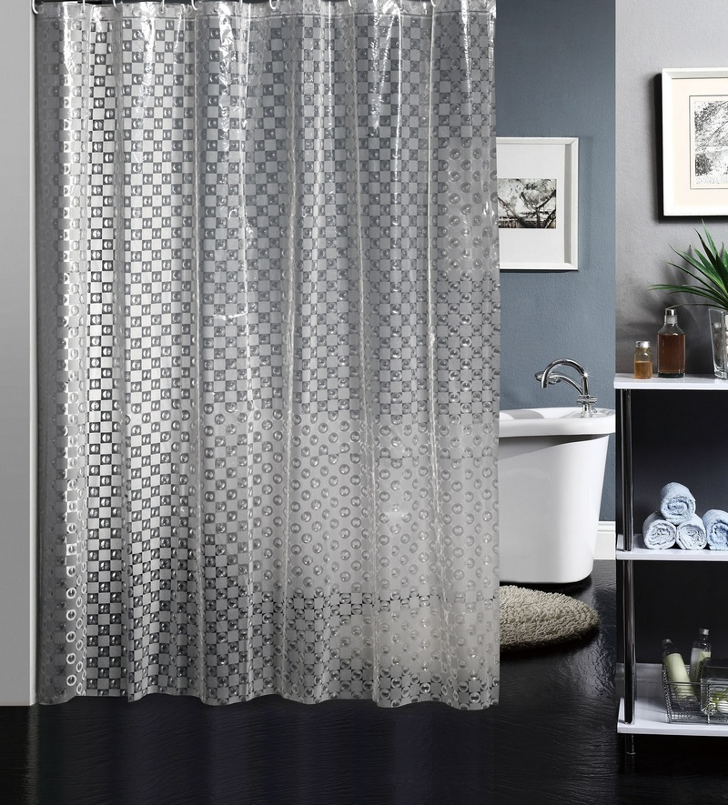Free shipping 3d nontoxic bathroom shower curtain peva shower curtain thick waterproof mildew send 12 ring