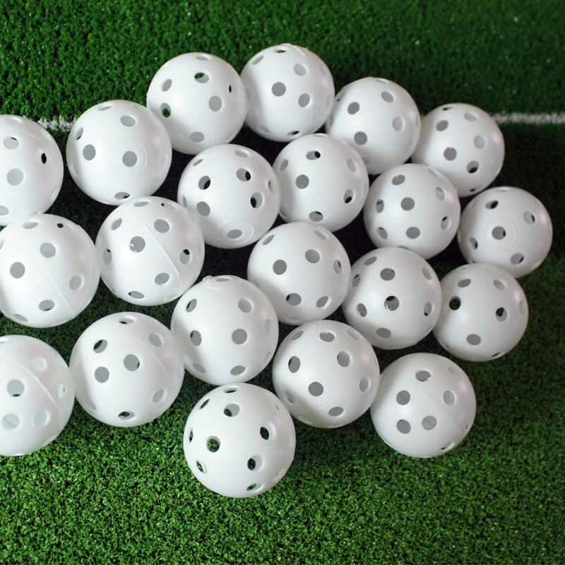Value golf dedicated indoor mini golf practice golf ball hollow ball ball auxiliary supplies