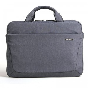 Kingsons laptop bag 14.1 inch apple laptop bag shoulder bag men and women shoulder bag waterproof and shockproof