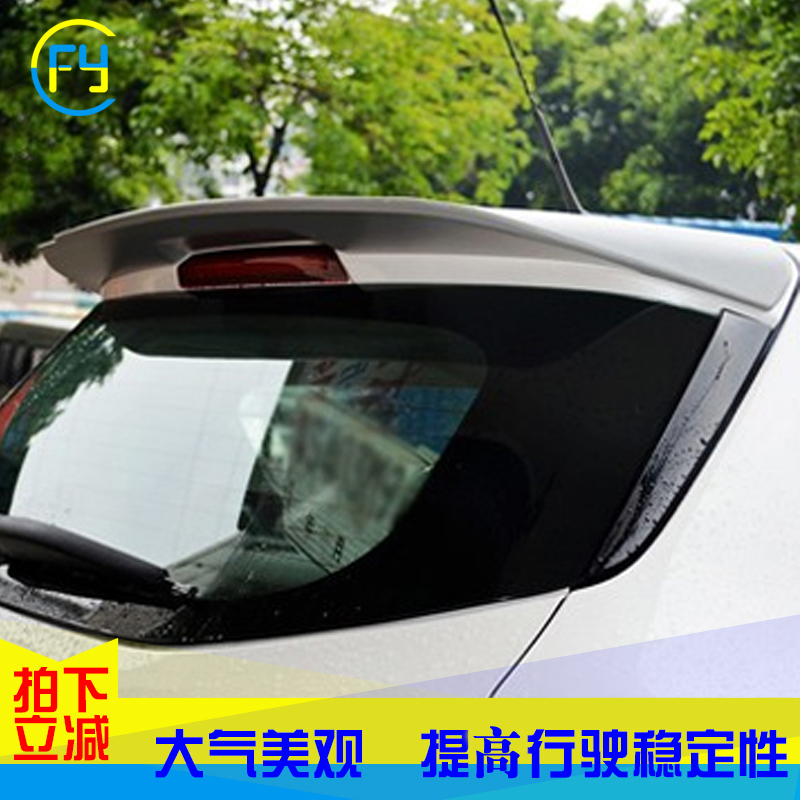 13 ford escape modified wing spoiler sport version of the new maverick maverick dedicated car tail fin tail fin