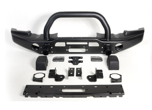Jeep wrangler jeep wrangler front bumper front bumper with pipe imports aev front protection bars can be mounted winch