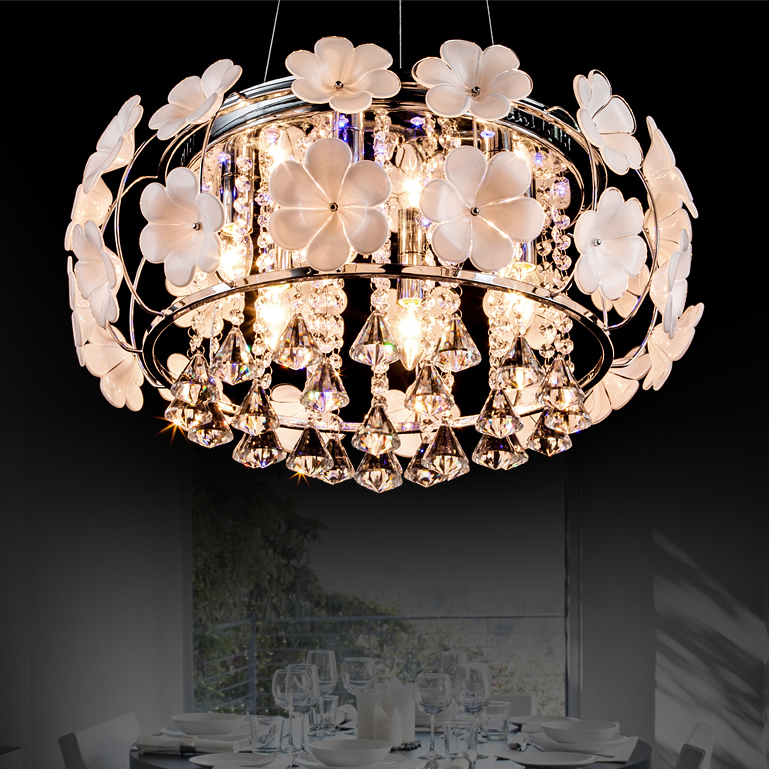 Room lamp bedroom lamp warm led ceiling lamp crystal lamps modern minimalist living room lighting study