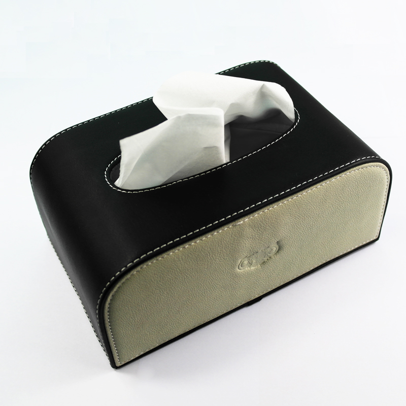 Genuine car tissue box car supplies cortex senior tissue boxes car tissue box pumping tray