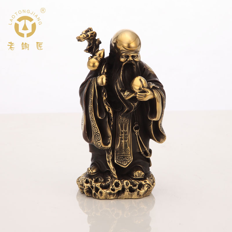 Old coppersmith copper ornaments birthday mascot ornaments home accessories to send gifts art collection product sale