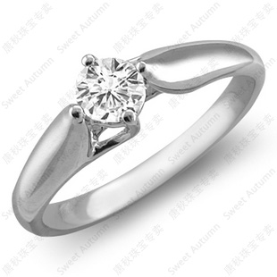 Tang autumn vs ij color 20 points nvjie pt950 platinum wedding ring platinum engagement ring specials