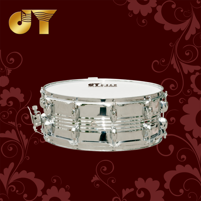 14 inch thick iron gold musical instrument drum snare drum snare drum cavity JYSD-E200 direct official security check