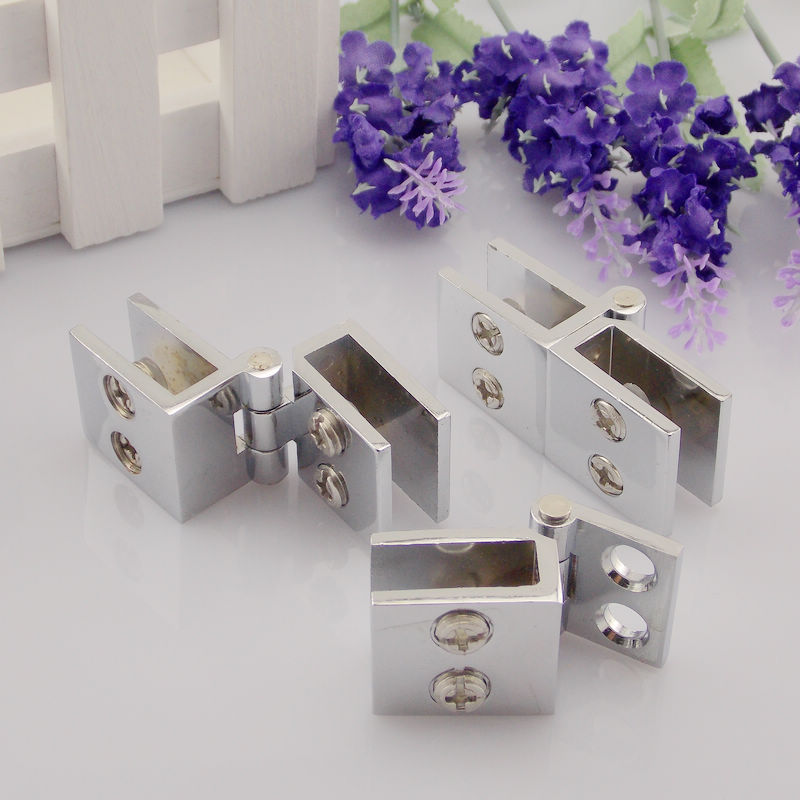 Squeak disabilities 90 degree glass door hinge glass door hinge hinge wine display cabinet door hinge hinge free punch