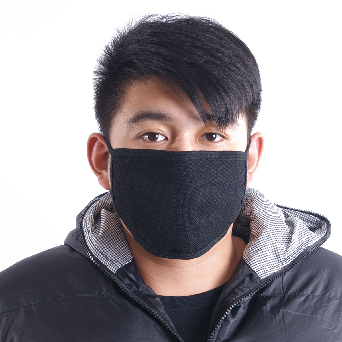 This paragraph does not participate in shipping activities winter korean men and women the same paragraph solid color cotton stripe fashion masks