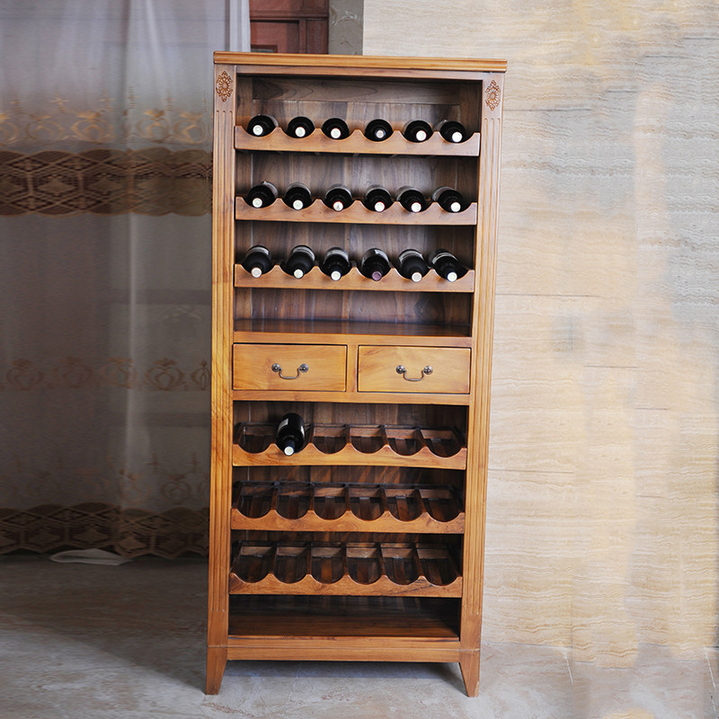 Emperor pomelo a55 golden teak wood wine cooler wine cooler/furniture wood wine rack wine rack wine wood wine