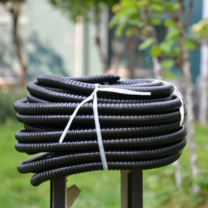 Flame retardant waterproof plastic coated metal hose pipe plastic coated metal hose wire hose wire protective sleeve