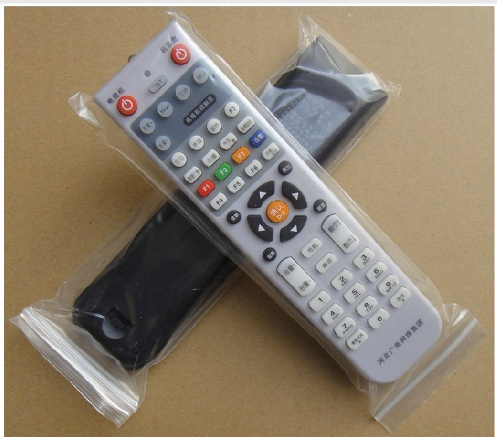 The new hebei broadcasting network stb shijiazhuang top box remote control + tv remote control free shipping Free shipping