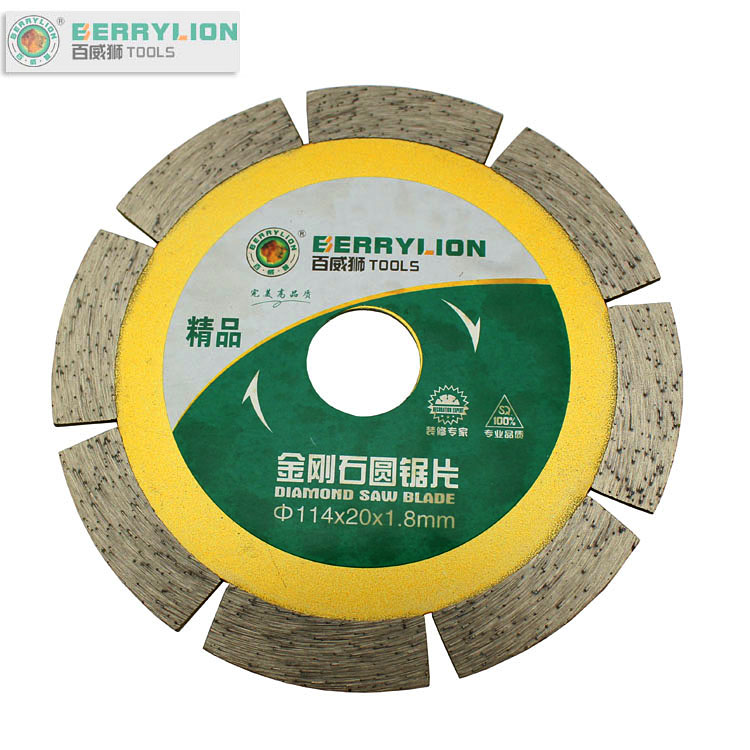 Budweiser lion wet piece of dry piece of diamond saw blade marble tile stone cutting discs 114mm