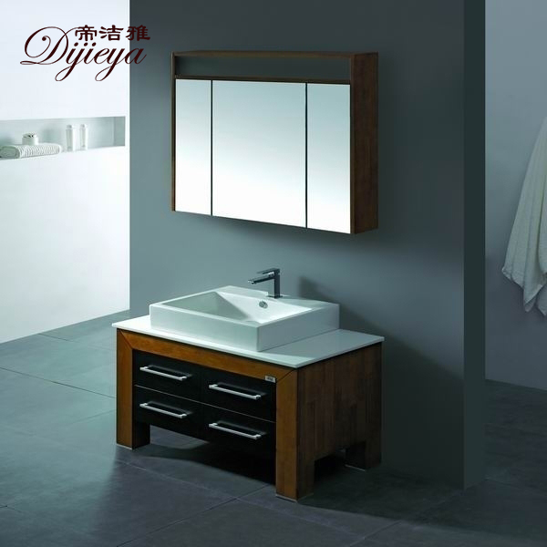 Modern minimalist bathroom cabinet bathroom cabinet bathroom floor cabinet vanity wash basin counter basin washbasin cabinet combination of solid wood bathroom cabinet custom 5098