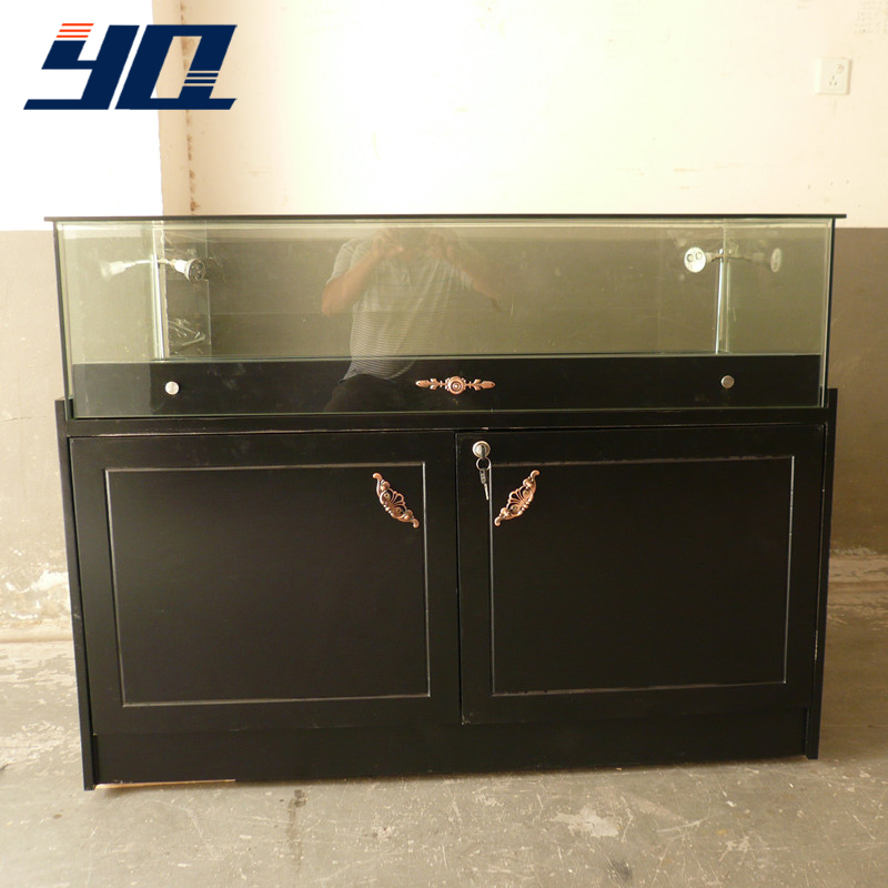 Angelina yq custom glass jewelry counter counter counter counter paint wooden digital phone display cabinets
