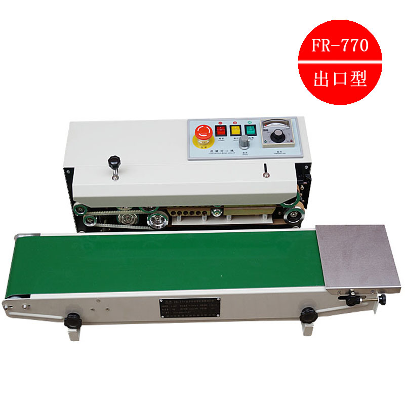 Fr-770 type automatic film sealing machine sealing machine automatic continuous sealing machine sealing machine w electromotor