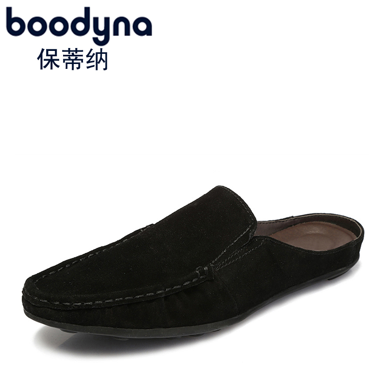 Paul priština spring and summer men sandals and slippers header peas shoes lazy half slippers breathable sandals korean tidal drag shoe care