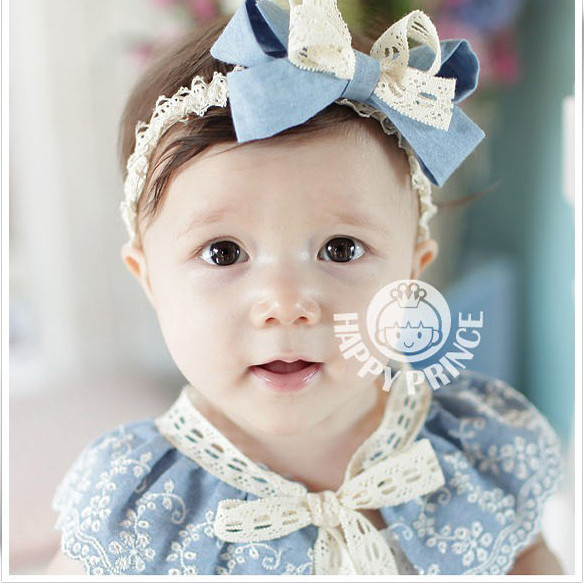 Korean infants and children lace hair band baby hair wig hair hoop headband korean hair accessories lovely princess tiara pictures