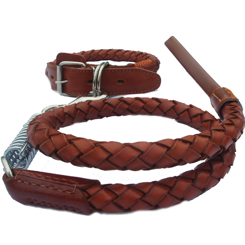 Kootie leather leash leather leash dog chain pet chain pet supplies leather dog leash pet leash dog rope leash