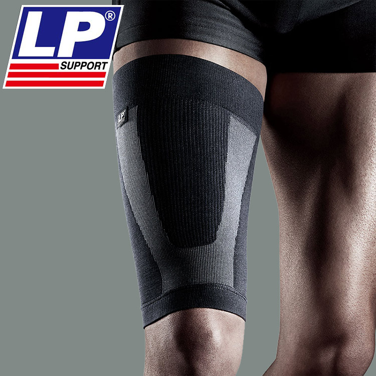 16 new free shipping LP271Z legguard thigh sets of male sports basketball football running compression brace breathable female