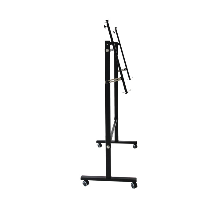 Office supplies deli (deli) 7830 stable and durable whiteboard frame (black)