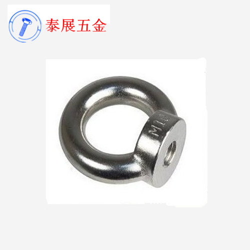 Thailand exhibition 304 stainless steel rings ring nut m6m8m10m12m14m16m18m20 nut mother