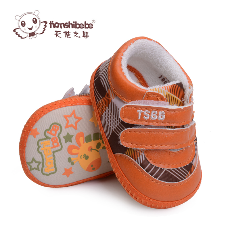 Angel infant dongkuan infant baby shoes before step shoes baby shoes soft bottom slip shoes baby shoes for men and women