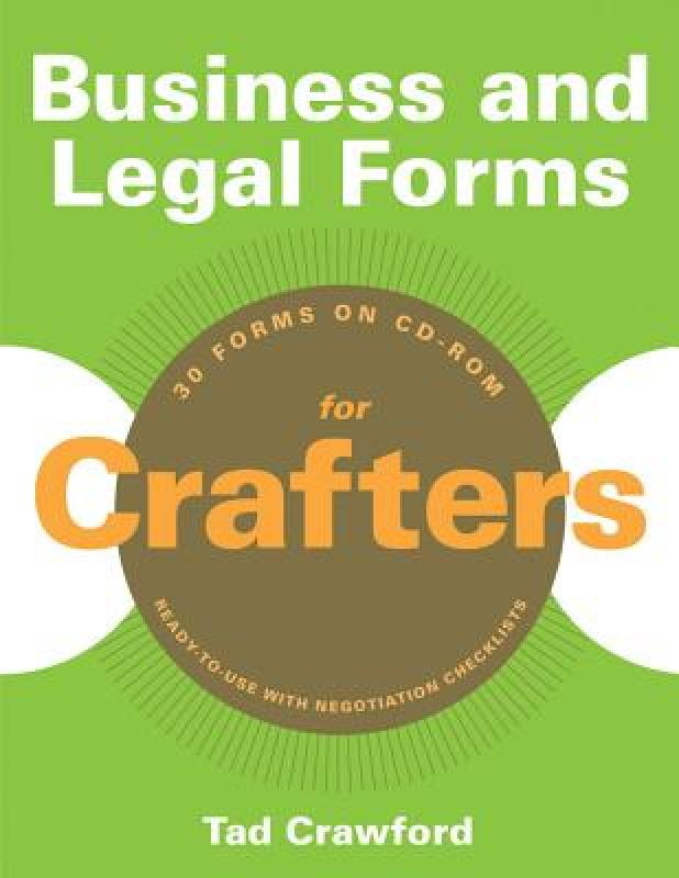 [Booking] business and legal forms for crafters [with cdrom]