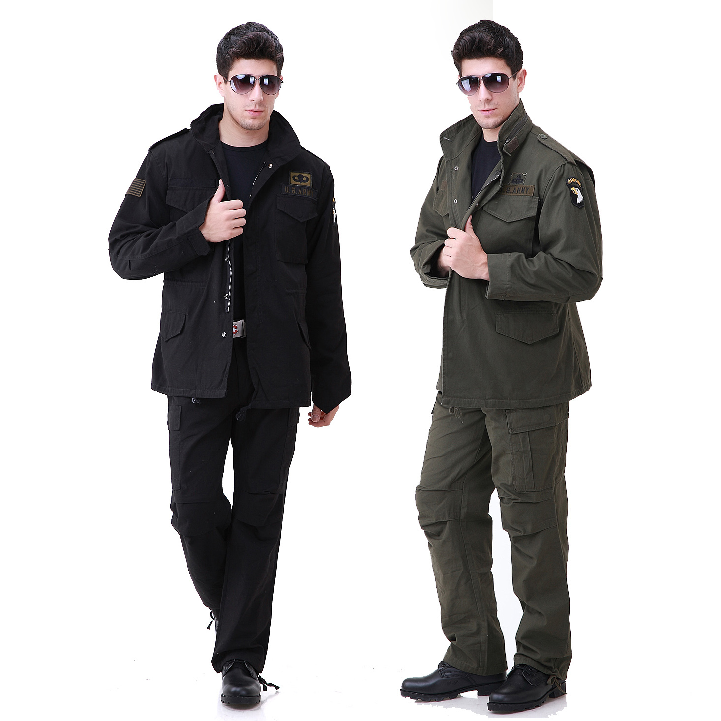 Military wild line of outdoor leisure clothing military fans 101 m65 airborne training uniform suits for men genuine spring and autumn