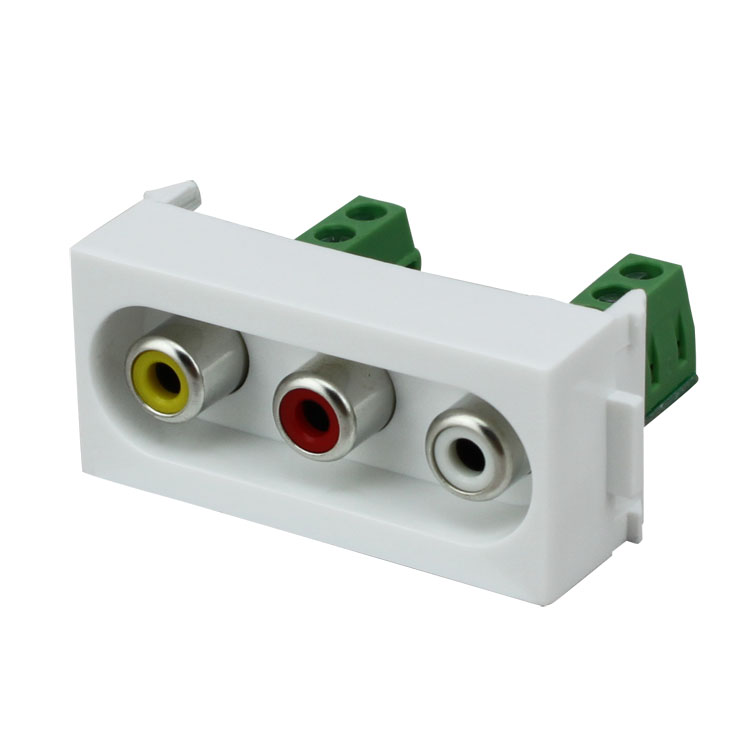 Bay bridge biqio N86-611HK av av audio and video card line module audio and video panel wall plug