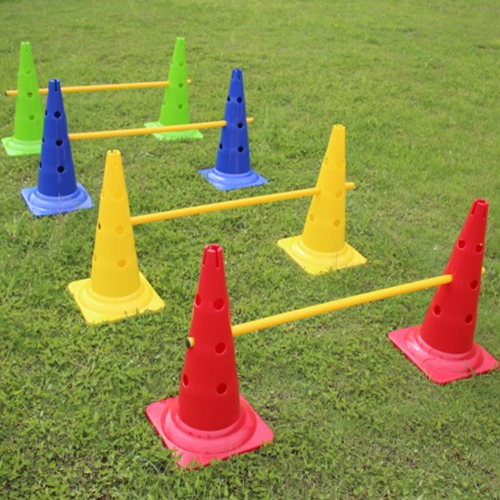 52CM flag football barrel mark signpost cone barricades cone obstacle training football training equipment