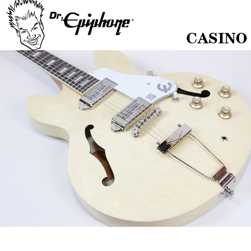Genuine free shipping! epiphone casino na electric guitar jazz guitar/send luxury gift